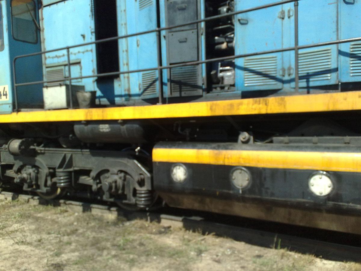 Установка системы мониторинга на локомотив (Локомотив №1)
