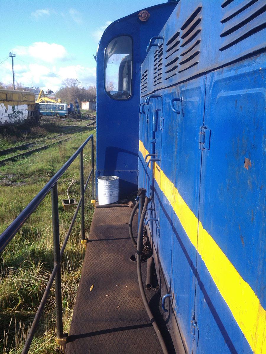 Установка системы мониторинга на локомотив (Локомотив №2)