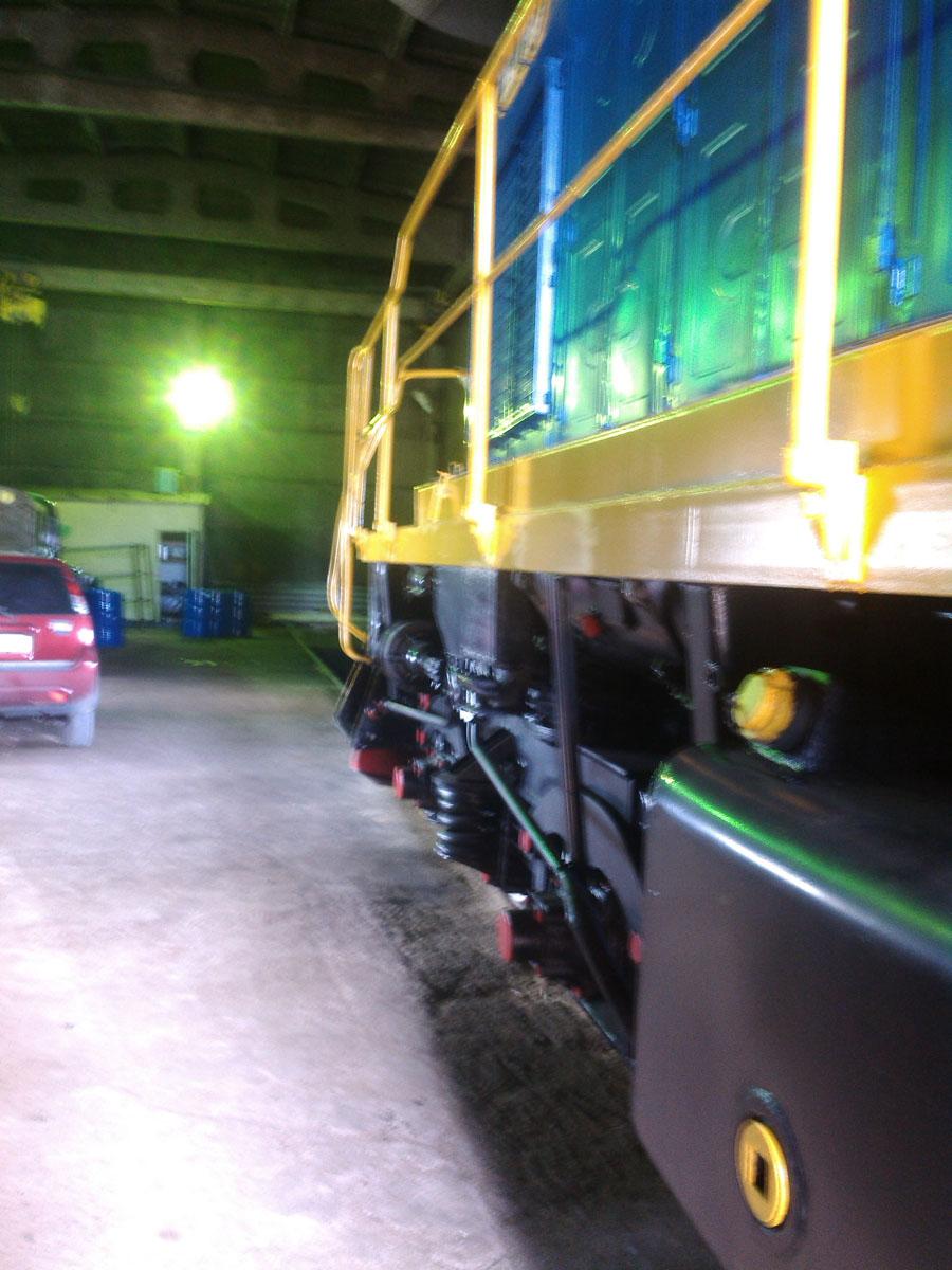 Установка системы мониторинга на локомотив (Локомотив №3)