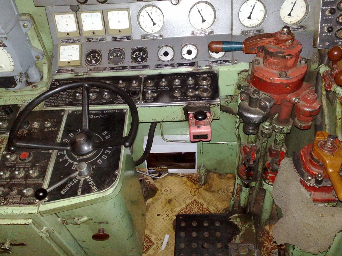 Установка системы мониторинга на локомотив (Локомотив №4)