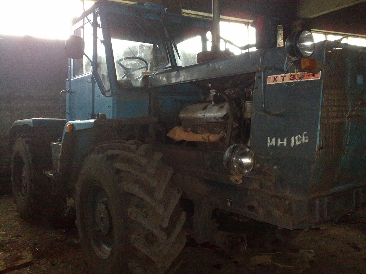 Установка системы мониторинга на трактор